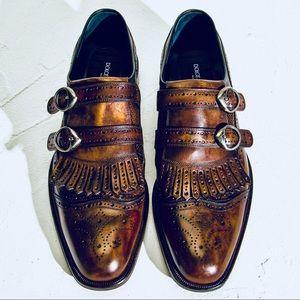 Dolce&Gabbana handmade Double Monk Strap Wingtip